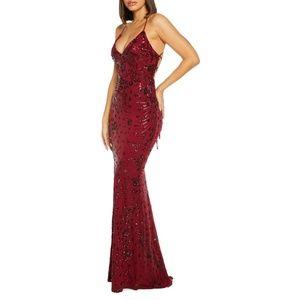 Quiz Dresses - Quiz Sequined Fishtail Mermaid Dress